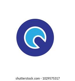 QC letter logo