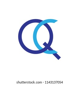 QC logo letter design