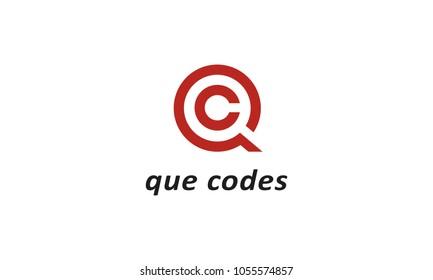 QC logo template