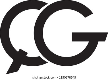 qg letter vector logo