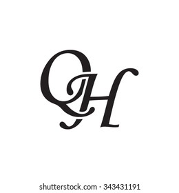 Qh Monogram Images, Stock Photos \u0026 Vectors | Shutterstock