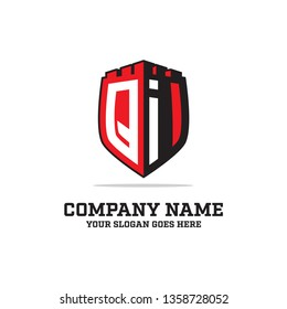 QI Initial logo name, QI LOGO clean and strong brand vector