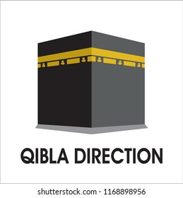 qibla direction sign