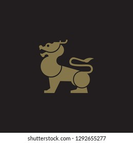 Qilin Logo Vector Template Name Company