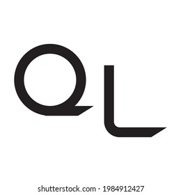 ql initial letter vector logo