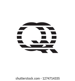 qq letter vector logo