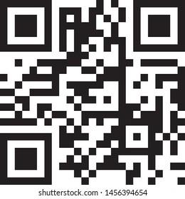 qr code icon information scan