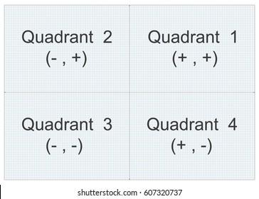 Quadrant graph paper