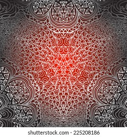 Quadrate red grey pattern for design