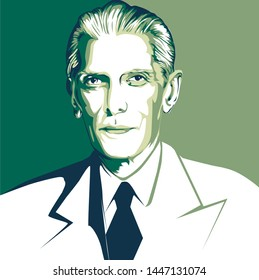 Quaid e Azam portrait 14th august independence day