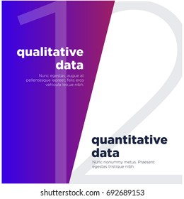 Qualitative Data Versus Quantitative Data Text Template