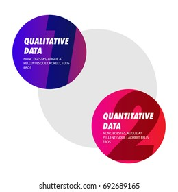 Qualitative Data Versus Quantitative Data Text Template
