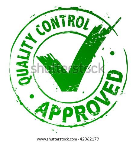quality control approved のベクター画像素材 ロイヤリティフリー