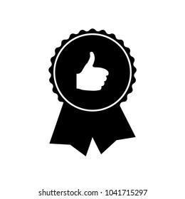 Quality mark icon