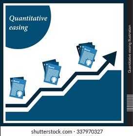 Quantitative easing Illustration