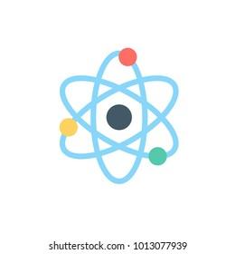quantum icon. flat style vector icon