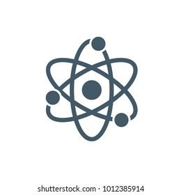 quantum physics icon. outline style