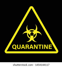 photograph regarding Quarantine Sign Printable named Quarantine Indication Pics, Inventory Pics Vectors Shutterstock