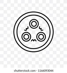 Quark vector icon isolated on transparent background, Quark logo concept