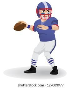 Quarterback  football player