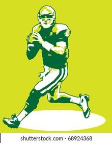 Quarterback Illustration