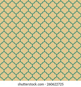 quatrefoil pattern. seamless vector background.