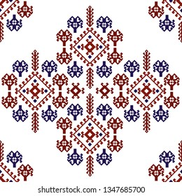 Quba carpet ornament - Quba rug ornament - Azerbaijan Traditional Carpet Ornament