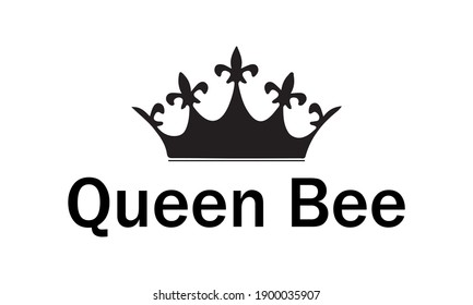 Queen Bee Vector and Clip Art