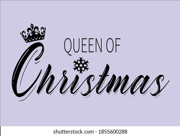 queen of christmas with snoflakeand butterflies and daisies positive quote flower design margarita  mariposa stationery,mug,t shirt,phone case fashion slogan  style spring summer sticker and etc