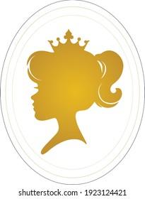 Queen logo design
