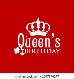 Queen's Birthday Vector Template Design Illustration