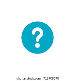 question icon vector isolated