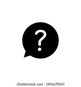 Question icon vector. question mark icon vector.