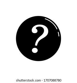 Question mark icon design illustration