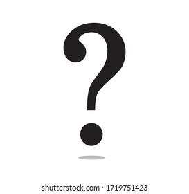 Question Mark Icon, Vector Design