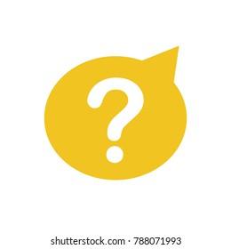 question mark query help faq icon