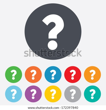 question mark sign icon help symbol のベクター画像素材