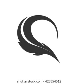 quill vector for q