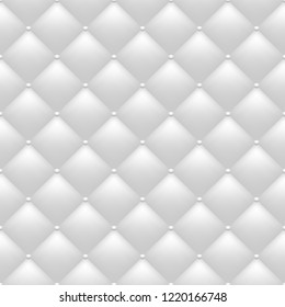 Quilted monochrome background. Seamless pattern. Vector, eps 10.