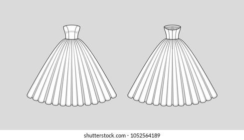 prom dress sketch images stock photos  vectors