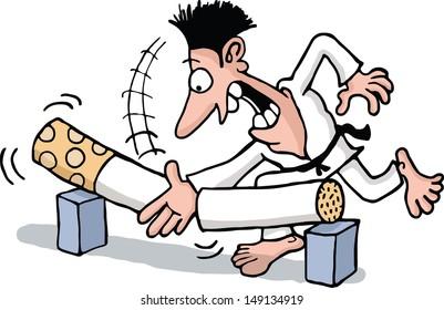 Anti Smoking Cartoon Images Stock Photos Vectors Shutterstock