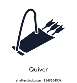 Quiver icon vector isolated on white background for your web and mobile app design, Quiver logo concept
