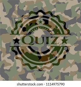 Quiz on camouflaged pattern
