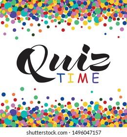 Quiz+time Images, Stock Photos & Vectors | Shutterstock