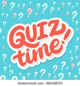 Quiz time! Lettering.