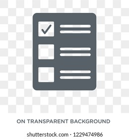 Quota icon. Trendy flat vector Quota icon on transparent background from business   collection.