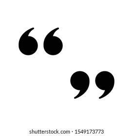 Quotation icon sign vector eps 10