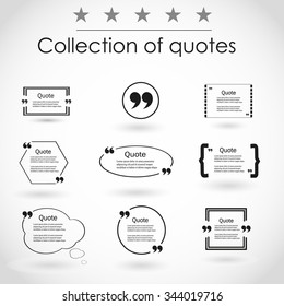 Quotation Mark Speech Bubble. Quote sign icon.