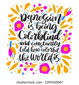 Mental Health Quote Images, Stock Photos & Vectors ...