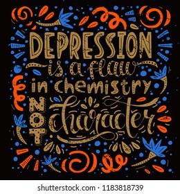 Early Symptoms Mental Health Illness Vector Stock Vector Royalty